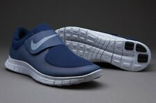 Nike Free 3.0 Socfly Midnight Navy Obsidian Pure Platinum 724851 400 UK size 7