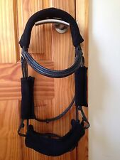Bridle - Headcollar - noseband poll and cheek Sleeve / Cover Set