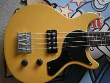 "Antoria NUOVO MODELLO 30"" SHORT SCALA BASS GUITAR NEW YORKER Les Paul Junior + VALIGETTA"