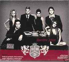 cd RBD Nuestro Amor EDICION DIAMANTE nuevo sellado bonus VIDEO tracks Portugues+