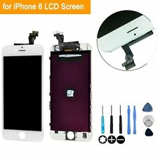 LCD Display Replacement Touch Screen Digitizer Assembly for iPhone 6 White+Tools