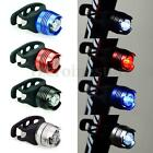 Waterproof Bicycle Bike Cycling LED Rear Flash Light Safety Tail Lamp + Battery