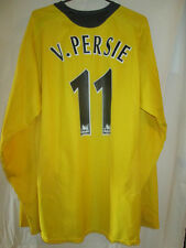 Arsenal 2005-2006 Van Persie Away Football Shirt Size Large long sleeve 15945