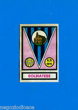 CALCIATORI PANINI 1967-68 - Figurina-Sticker - SOLBIATESE SCUDETTO - Rec