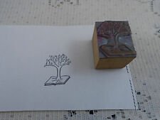 Tree of Knowledge Biblical Printing Block Letterpress Graphic Arts