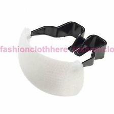 White Pop-Up Flash Diffuser For Canon 10D 50D 400D 7D Mark 1200D SX60 SX50 HS