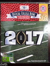 Official NCAA College Football Black 2017 CFP Championship Game Patch