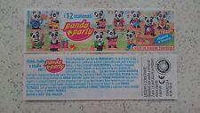 """BPZ  """"Panda Party"""" 1994 Italien, FETTER DRUCK"""