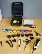 Wahl Homepro Basic Hair Clipper & Personal Trimmer with additional colour guards