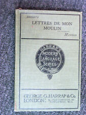 Lettres de Mon Moulin par Alphonse Daudet 1911 Modern Language French Textbook