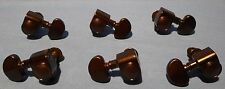 3X3 BLACK GUITAR MACHINE HEADS FOR ACOUSTIC OR ELECTRIC GROVER STYLE