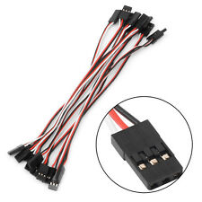 10pcs 15cm Servo Extension Lead Male to Male Wire Cable For RC Futaba Quadcopter