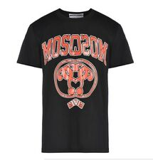 NWT Moschino Couture Men Varsity Logo T-shirt Size L Large
