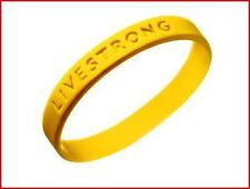 3 Livestrong Band Bracelet Lance Armstrong Laf Wear Yellow Nike Wristband
