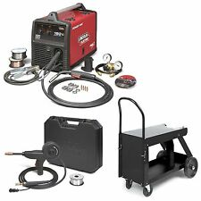 Lincoln Power MIG 180C MIG Welder Pkg. w/ Deluxe Cart K520 & Spool Gun (K2473-2)