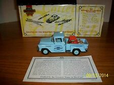 Matchbox Collectibles Genuine Parts and Service 1955 Chevy Pick Up YIS03-M