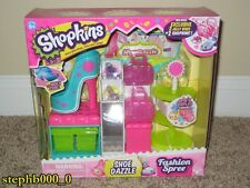 Shopkins Fashion Spree Shoe Dazzle Playset w/2 Jelly Bags + 2 Shopkins BRAND NEW