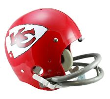 KANSAS CITY CHIEFS 63-73 TK THROWBACK FULL SIZE FOOTBALL HELMET