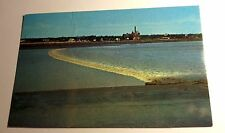 Color Photo Postcard Tital Bore, Moncton, New Brunswick, Canada, 1963 Postmark