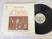 GREAT GUITARS AT CHARLIE'S GEORGETOWN CHARLIE BYRD KESSEL 1983 USA PRESS LP