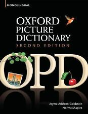 Oxford Picture Dictionary 2E: OXFORD PICTURE DICTIONARY by Jayme...