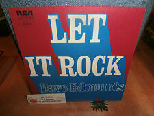 "dave edmunds""let it rock.""single7""or.fr.rca victor:42515 de1975.+encart juke-box"