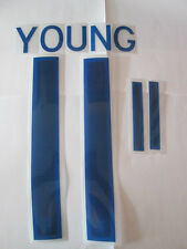 Young no 11 England Home Football Shirt Name Set Adult Sporting ID