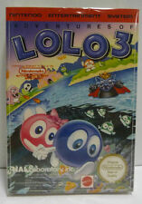 ADVENTURES OF LOLO 3 - MATTEL ITA NINTENDO NES PAL A VERSION BOXED RARE