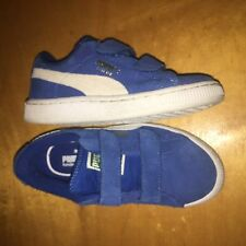 Puma Kids youth Kinder Fit Suede Shoes NWOT SZ/12