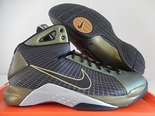 NIKE HYPERDUNK SUPREME METALLIC GOLD-BLACK-METALLIC SILVER SZ 13 [333373-701]