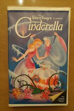 Walt Disney's Cinderella VHS Black Diamond - 410 - The Classics Movie with Case