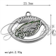 1pc The super bowl champion football the Philadelphia eagles Mark Alloy Pendant