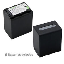 2x Kastar Battery for Sony NP-FH100 HDR-CX300 HDR-CX500 HDR-CX520 HDR-HC3