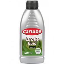CARLUBE SYNTHETIC BRAKE& CLUTCH FLUID DOT 4 300ML