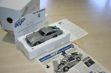 DANBURY MINT ASTON MARTIN JAMES BOND SILVER DB5 WITH PAPERWORK
