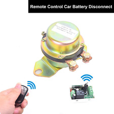 Car Wireless Remote Control Battery Switch Disconnect Latching Relay Anti-theft