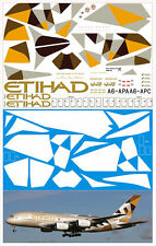 1/144 PAS-DECALS Revell Airbus A-380 Etihad New