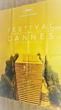FESTIVAL CANNES 2016   ! affiche cinema