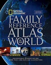 Family Reference Atlas of the World by National Geographic (2015, Hardcover)