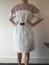 Marni White Summer Designer Dress Size 42 Italian, Size Medium cost £590 new!