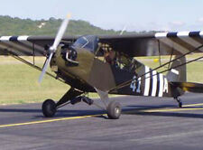 Huge Giant 1/2 Scale American WW-II Piper L-4 Grasshopper Plans,Templates,Instr