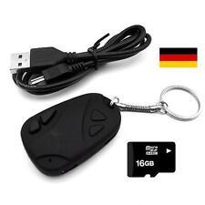 USB Kamera Schlüsselanhänger Autoschlüssel Spy Cam Mini Camcorder 16 GB Karte