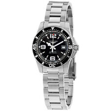 Longines HydroConquest Black Dial Automatic Stainless Steel Ladies Watch L328445