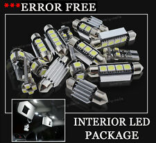 17x Bulbs For Audi A4 8K Avan Canbus INTERIOR PACKAGE XENON WHITE LED LIGHT KIT