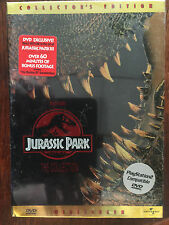 Jurassic Park the Collection dvd 1st 2 movies original plus the Lost World box