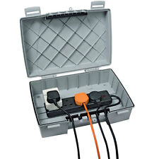 Timeguard Weatherproof IP55 Outdoor power box with 4gang 13AMP socket - TPS401