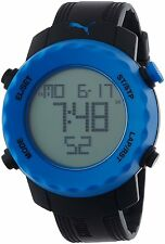Puma Sharp Unisex Digital Watch with Blue Dial -PU911031001-SECOND