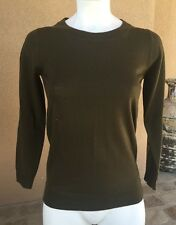 J.CREW - L TIPPI MERINO WOOL PULLOVER SWEATER - Vintage Elm Green - Large