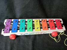 Fisher Price 1960's or 1970's Xylophone Pull Toy #870