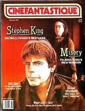 CINEFANTASTIQUE MAGAZINE STEPHEN KING MISERY JAMES BOND EX CONDITION